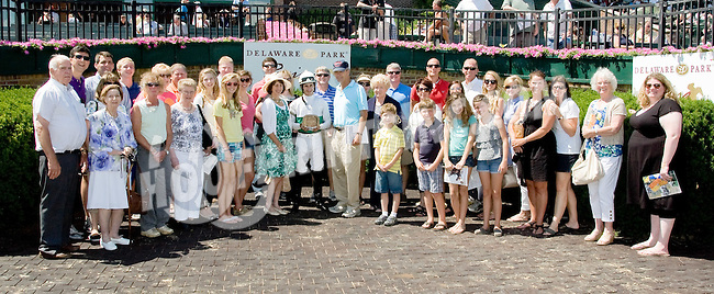 Dr. John Peters and family at Delaware Park on 6/16/12