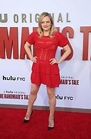 "6 August 2019 - Westwood, California - Elisabeth Moss. Hulu's ""The Handmaid's Tale"" Celebrates Season 3 Finale held at Regency Village Theatre.   <br /> CAP/ADM/FS<br /> ©FS/ADM/Capital Pictures"