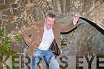 DAN HANAFIN BRIDGE: Francis Foley under the Dan Hanafin bridge at Clahane on Saturday.