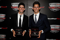 IMSA WeatherTech SportsCar Championship<br /> Night of Champions<br /> Road Atlanta, Braselton GA<br /> Monday 9 October 2017<br /> Ricky and Jordan Taylor with Tudor Watches<br /> World Copyright: Michael L. Levitt<br /> LAT Images