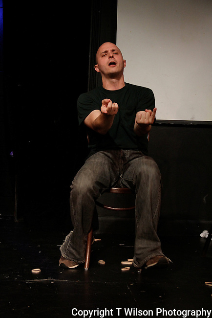 Elephant Larry at Sketchfest NYC, 2010. UCB Theatre