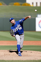 Brendan Lafferty - Kansas City Royals 2009 Instructional League. .Photo by:  Bill Mitchell/Four Seam Images..