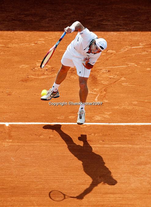 17-4-07, Monaco,Master Series Monte Carlo, David Ferrer