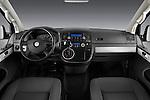 Straight dashboard view of a 2010 Volkswagen Multivan Shuttle Comfortline Minivan