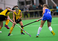 Action from the 2019 Collier Trophy Under-15 Girls' Hockey Tournament match between Auckland and Taranaki at National Hockey Stadium in Wellington, New Zealand on Friday, 9 October 2019. Photo: Dave Lintott / lintottphoto.co.nz