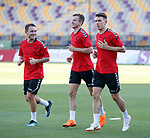 15.08.18 Rangers in Maribor: Lee Hodson, Andy Halliday, Ryan Jack