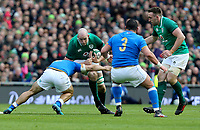 Saturday 10th February 2018 | Ireland vs Italy<br /> <br /> Devin Toner during the Six Nations Rugby Championship match between Ireland and Italy at the Aviva Stadium, Lansdowne Road,  Dublin Ireland. Photo by John Dickson / DICKSONDIGITAL