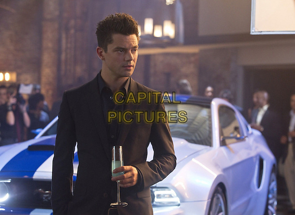 Dominic Cooper<br /> in Need for Speed (2014) <br /> *Filmstill - Editorial Use Only*<br /> CAP/FB<br /> Image supplied by Capital Pictures