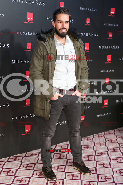 "Alex Barahona attend the Premiere of the movie ""Musaranas"" in Madrid, Spain. December 17, 2014. (ALTERPHOTOS/Carlos Dafonte) /NortePhoto /NortePhoto.com"