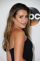 06 August  2017 - Beverly Hills, California - Lea Michele.   2017 ABC Summer TCA Tour  held at The Beverly Hilton Hotel in Beverly Hills. <br /> CAP/ADM/BT<br /> &copy;BT/ADM/Capital Pictures