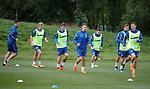 01.08.2018 Rangers training: Rangers training