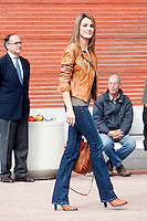 Princess Letizia of Spain visit King Juan Carlos of Spain at La Milagrosa Hospital in Madrid, Spain. March 03, 2013. (ALTERPHOTOS/Caro Marin) /NortePhoto