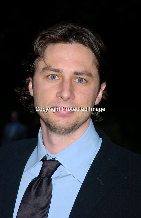 Zach Braff ..at the Fresh Air Fund Salute to American Heroes on June 3, 2004 at The Tavern on the Green. Photo by Robin Platzer, ..Twin Images