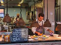Restaurant Genusswerkstatt im Hotel Freigeist, Tiedexer Tor 5, Einbeck, Niedersachsen, Deutschland, Europa<br /> restaurant Genusswerkstatt, Hotel Freigeist, Tiedexer Tor 5, Einbeck, Lower Saxony, Germany, Europe