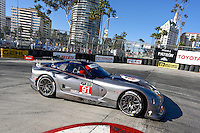 #91 Viper GTS-R of Dominik Farnbacher, Marc Goossens and Jonathan Bomarito, Long Beach Grand Prix, Long Beach, CA, April 2014.  (Photo by Brian Cleary/ www.bcpix.com )