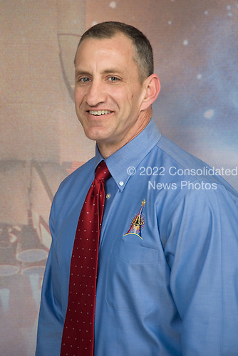 Houston, TX - October 16, 2009 -- Astronaut Charles O. Hobaugh, STS-129 commander, poses for a portrait following an STS-129 preflight press conference at NASA's Johnson Space Center..Mandatory Credit: Lauren Harnett - NASA via CNP