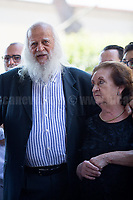 Vincenzo Agostino &amp; Augusta Schiera - Parents of Nino Agostino, Police officer killed by Cosa nostra mafia in 1989 along with his pregnant wife Ida Castelluccio.<br />