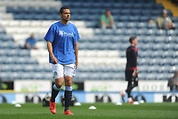 Blackburn Rovers' Jack Rodwell during the pre-match warm-up <br /> <br /> Photographer Kevin Barnes/CameraSport<br /> <br /> The EFL Sky Bet Championship - Blackburn Rovers v Bolton Wanderers - Monday 22nd April 2019 - Ewood Park - Blackburn<br /> <br /> World Copyright © 2019 CameraSport. All rights reserved. 43 Linden Ave. Countesthorpe. Leicester. England. LE8 5PG - Tel: +44 (0) 116 277 4147 - admin@camerasport.com - www.camerasport.com