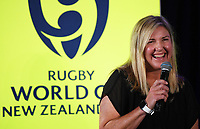 4th February 2020, Eden Park, Auckland, New Zealand;  Cate Sexton (Head of Women's Rugby NZ).<br /> RWC 2021 New Zealand Kick-Off event at Eden Park, Auckland, New Zealand on Tuesday 4th February 2020.