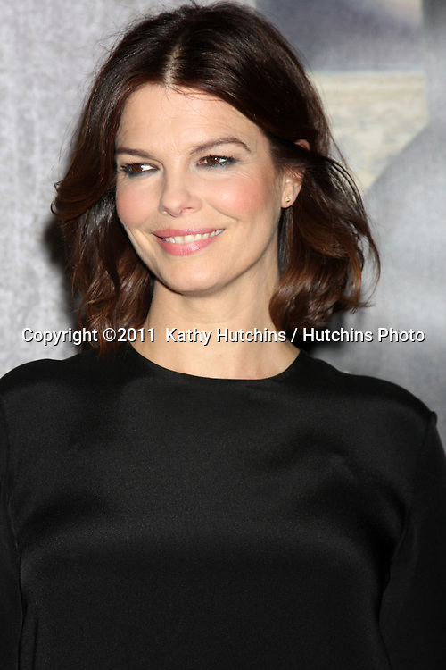 "LOS ANGELES - JAN 12:  Jeanne Tripplehorn arrives at the ""Big Love"" Season 5 Premiere  at Director's Guild of America on January 12, 2010 in Los Angeles, CA."