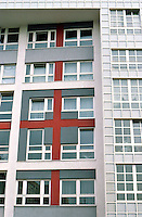 Peter Eisenman, IBA Social Housing, Berlin. Detail. (Photo '87)