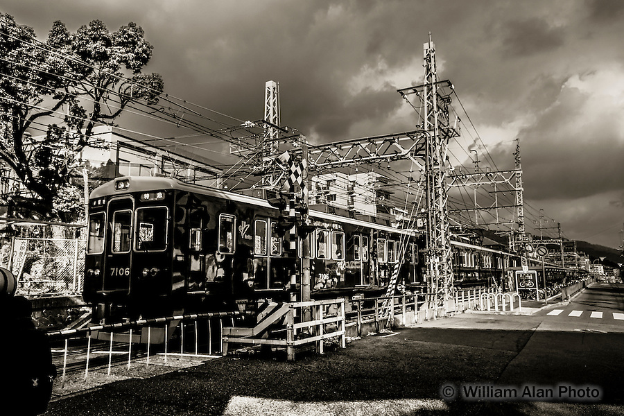 Train 7106. Kobe, Hyogo Prefecture, Japan. 2015