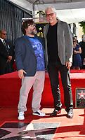 LOS ANGELES, CA. September 18, 2018: Jack Black & Tim Robbins at the Hollywood Walk of Fame Star Ceremony honoring actor Jack Black.