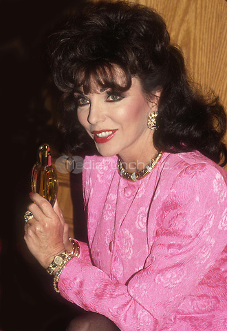 Joan Collins 1989<br /> Photo By John Barrett/PHOTOlink.net / MediaPunch