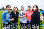 Enjoying the Community GAA Football games in Na Gaeil on Monday. L to r: Norma Horgan (Rathmore), Theresa Murphy (Gneeveguilla), Una Moynihan (Rathmore), Antonette O'Leary and Miriam Moynihan both Rathmore.