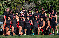 Newlands celebrates winning the Wellington Softball Association senior women's section A final between Poneke and Newlands at Wakefield Park in Wellington, New Zealand on Saturday, 23 March 2019. Photo: Dave Lintott / lintottphoto.co.nz