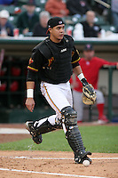 Rochester Red Wings Jose Morales during an International League game at Frontier Field on September 3, 2006 in Rochester, New York.  (Mike Janes/Four Seam Images)