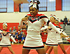 Freeport performs as host team during the varsity segment of the Freeport Devil Winter Cheerleading Competition at Freeport High School on Sat, Dec. 16, 2017.
