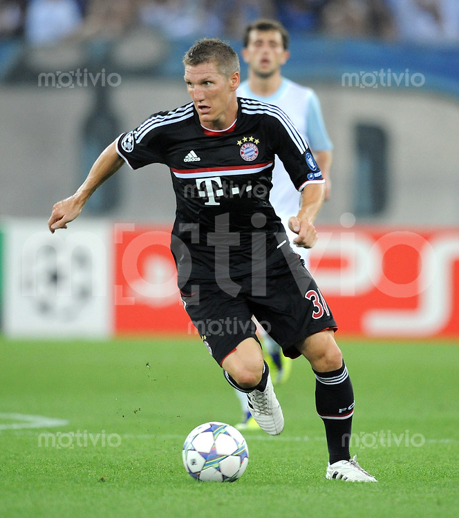 FUSSBALL   CHAMPIONS LEAGUE   SAISON 2011/2012  Qualifikation  23.08.2011 FC Zuerich - FC Bayern Muenchen Bastian Schweinsteiger (FC Bayern Muenchen)