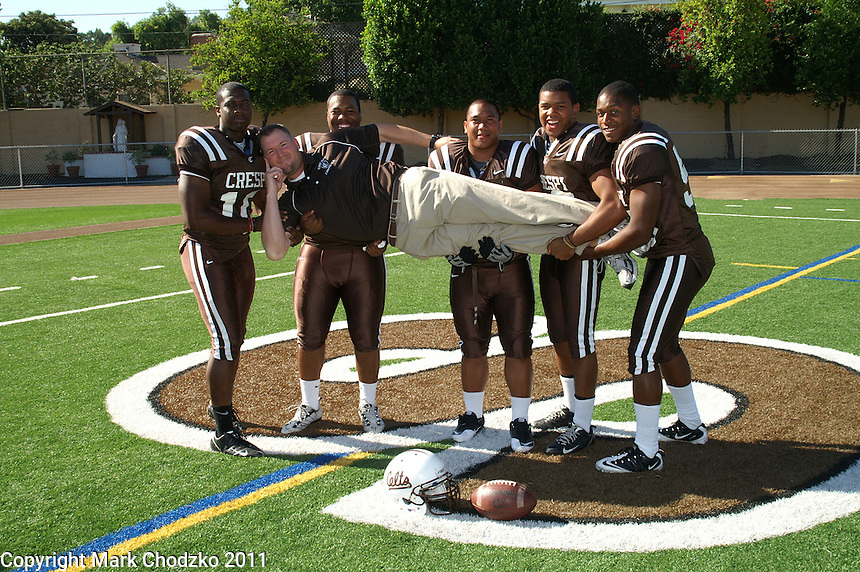 Crespi Varsity Football team photo