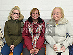 Erin and Margaret Gorman and Rosemary Gogarty at the official opening of the new dressing rooms at St Mary's GFC Donore.  Photo:Colin Bell/pressphotos.ie