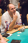 Avdo Djokovic agonizes making a call, then reacts to losing pot.