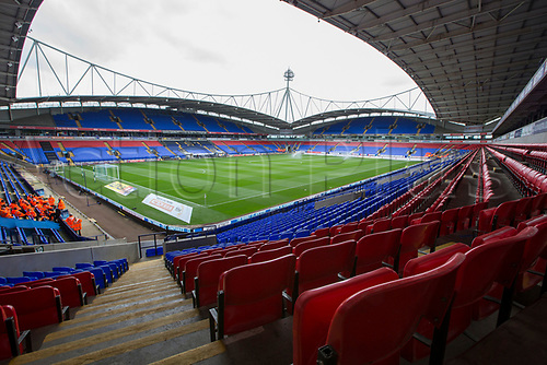 August 6th 2017, Macron Stadium, Bolton, England; Sky Bet Championship; Bolton Wanderers versus Leeds United;  Inside the Macron stadium home of Bolton Wanderers