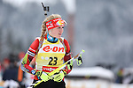 IBU Biathlon World Cup<br /> &copy; Pierre Teyssot<br />  Gabriela Soukalova (SVK) in action during the IBU Biathlon World Cup.
