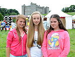 Sarah Drew, Courtney Donnelly and Abbie Milne pictured at the Ladywell Fete at Slane Castle. Photo: Colin Bell/pressphotos.ie