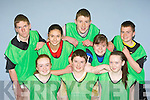 The Kilmurry team that played in the Garda/KDYS Good Friday basketball blitz in Castleisland front row l-r: Amy Browne, Jason Cronin, Katie Horan. Back row: Paudie Fitzmaurice. Meave Kearney, Cieran O'Donoghue, Therese Healy and Jack McAulliffe..