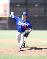 Chris Withrow / Los Angeles Dodgers 2008 Instructional League..Photo by:  Bill Mitchell/Four Seam Images