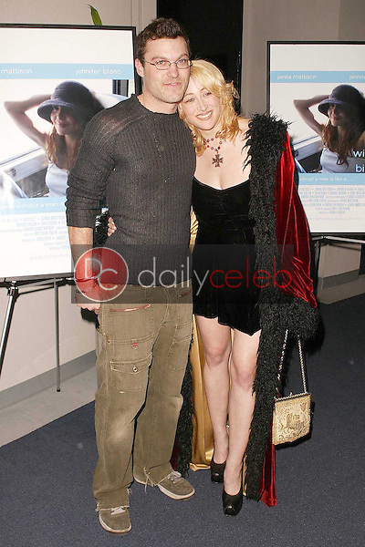 Brian Austin Green and Jennifer Blanc