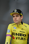 Wout Van Aert (BEL) Team Jumbo-Visma at the team presentations before Stage 1 of the Criterium du Dauphine 2019, running 142km from Aurillac to Jussac, France. 9th June 2019<br /> Picture: Colin Flockton | Cyclefile<br /> All photos usage must carry mandatory copyright credit (© Cyclefile | Colin Flockton)