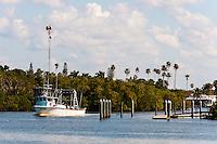 US, Florida. Everglades City.