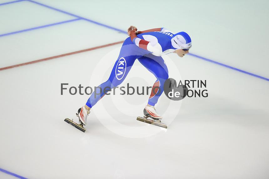 SPEEDSKATING: CALGARY: Olympic Oval, 07-03-2015, ISU World Championships Allround, Olga Graf (RUS), ©foto Martin de Jong