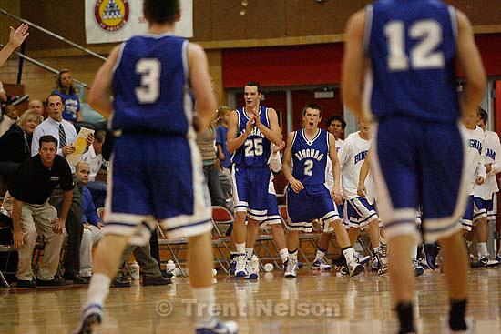 Bountiful vs. Bingham high school boys basketball, Friday, December 4 2009 in Bountiful.
