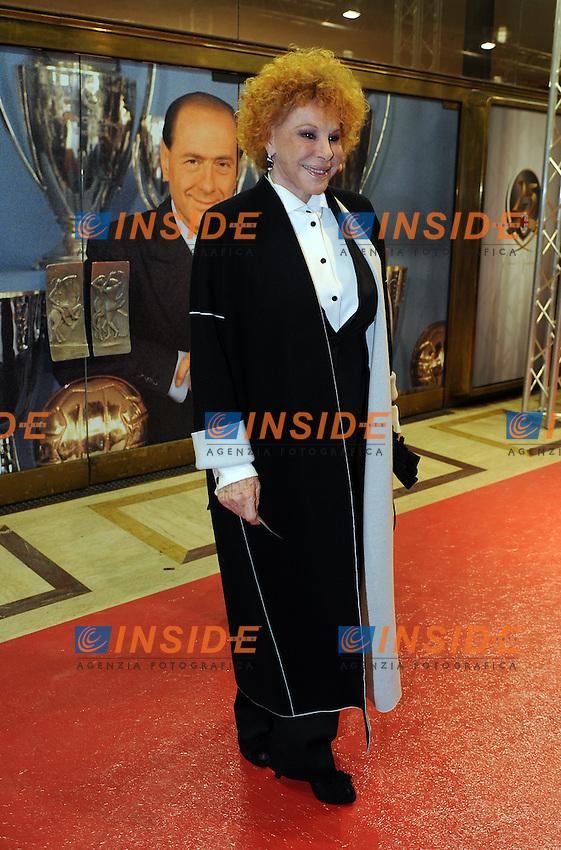 Ornella VANONI<br /> Milano, 13/03/2011 Teatro Manzoni<br /> 25&deg; anniversario di presidenza Berlusconi al Milan<br /> Campionato Italiano Serie A 2010/2011<br /> Foto Nicolo' Zangirolami Insidefoto