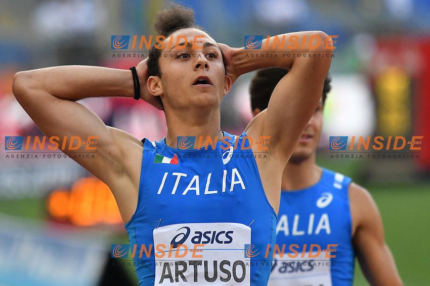 ARTUSO ITA <br /> Roma 02-06-2016 Stadio Olimpico <br /> IAAF Diamond League Golden Gala <br /> Atletica Leggera<br /> Foto Andrea Staccioli / Insidefoto