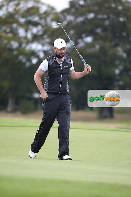 David Barry / Glen Robinson during the final round of  The 106th Irish PGA Championship, at the Moy Valley Hotel & Golf Resort, Kildare, Ireland.  25/09/2016. Picture: David Lloyd | Golffile.