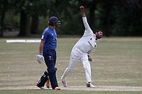 Taqi Abbas of Harold Wood during Harold Wood CC vs Shenfield CC (batting), Essex Cricket League Cricket at Harold Wood Park on 25th July 2020